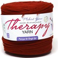 Therapy Yarn Koyu Kırmızı Penye Ip