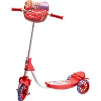 Beren Şeffaf Silikon Tekerlekli Frenli Arabalar Figürlü Çocuk Scooter