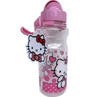 Hakan Çanta Hello Kitty 500 ml Şeffaf Kırılmaz Matara - 78712