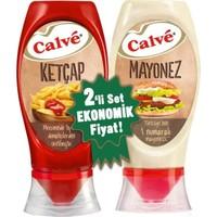 Calve Ketçap Mayonez 2 Li Set 400+350 gr
