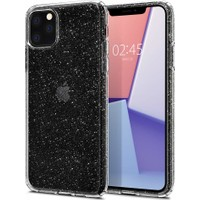 Spigen Apple iPhone 11 Pro Max Kılıf Liquid Crystal Glitter Crystal Quartz - 075CS27131