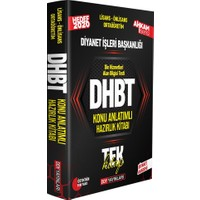 Ddy Yayınları DHBT Ahkam Serisi Tüm Adaylar Konu Anlatımlı Hazırlık Kitabı