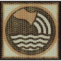 Domenech Kova Burcu Simgesi Mozaik Taş Puzzle