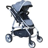 Baby Care BC40 Astra Trio Travel Sistem Bebek Arabası - Gri