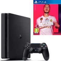 Sony PS4 Slim 500 GB Oyun Konsolu + PS4 FIFA 2020 Oyun (Eurasia Garantili)
