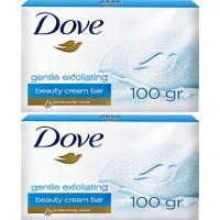 Dove Güzellik Sabunu Gentle Exfoliating 100 gr x 2