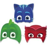 Kikajoy Pijamaskeliler Lisanslı Kağıt Maske 6'lı
