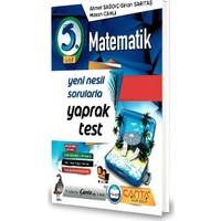 Çanta 5.Sınıf Matematik Yaprak Test-2020 Ahmet Sağdıç - Sinan Sarıtaş