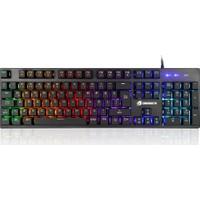 GameBooster G76K Attack Rainbow Aydınlatmalı Semi-Mechanical Oyun Klavyesi (GB-G76K)