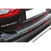 Arabamsekil Nissan New Qashqai Krom Arka Tampon Eşiği 2014-2017