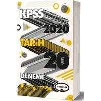 Yediiklim Yayınları 2020 KPSS Genel Kültür Tarih Tamamı Çözümlü 20 Deneme
