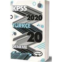 Yediiklim Yayınları 2020 KPSS Genel Yetenek Türkçe Tamamı Çözümlü 20 Deneme
