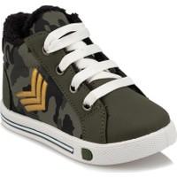 Polaris 92.510834.B Haki Erkek Çocuk Sneaker Ayakkabı