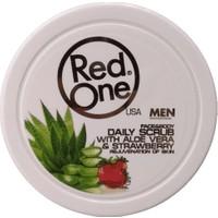 Red One Çilek+Aloe Vera Yüz+Vücut Peelingi 450 ml
