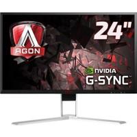 """AOC AGON AG241QG 165 Hz 23.8"""" 1ms (HDMI+Display+4xUSB) Nvidia G-SYNC QHD Oyuncu Monitörü"""