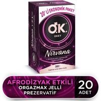 Okey Nirvana 20'li Ekonomik Prezervatif