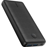 Anker PowerCore Select 20000 mAh Taşınabilir Hızlı Şarj Cihazı - PowerIQ 2.0 18W Çift Çıkışlı Powerbank - Siyah - A1363
