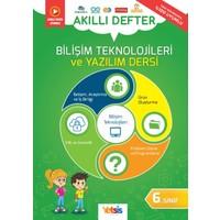 Yetsis Yayınları Bilişim Teknolojileri ve Yazılım Dersi 6. Sınıf Akıllı Defter