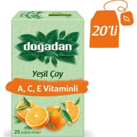Doğadan Yeşil Çay A-C-E Vitaminli