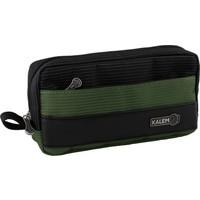 Arc Kalemlig Dash Maxi Double Kalem Çantası Yeşil-Siyah