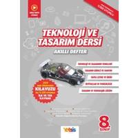 Yetsis Yayınları Teknoloji ve Tasarım Dersi 8. Sınıf Akıllı Defter
