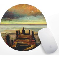 Iskeledeki Çocuk Tasarım Mouse Pad