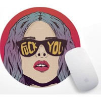Tumblr Girl Tasarım Mouse Pad