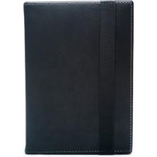 """AksesuarFırsatı Hometech Ideal Tab 10 W - 10.1"""" Tablet Dönerli Tablet Kılıfı Siyah"""