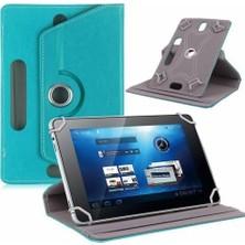 "AksesuarFırsatı Lenovo Tab 2 A8-50 - A8-50F - 8"" Tablet - 3G - 8"" Tablet Dönerli Tablet Kılıfı Turkuaz"