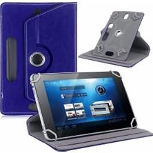 "AksesuarFırsatı Lenovo Tab 3 Essential 7"" Tablet Dönerli Tablet Kılıfı Lacivert"