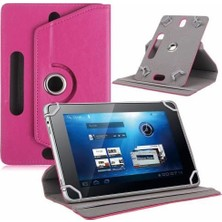 "AksesuarFırsatı Lenovo TAB 4 10 10.1"" Tablet Dönerli Tablet Kılıfı Pembe"