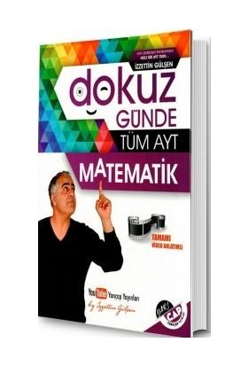 Yarı Çap Yayınları Dokuz Günde Tüm AYT Matematik - İzzettin Gülşen