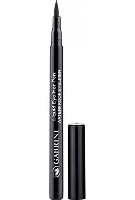 Gabrini Kalem Dipliner Black Waterproof Liquid Eyeliner Pencil