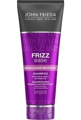 John Frieda Frizz Ease Miraculous Recovery Shampoo 250ml - Mucizevi İyileştirme Bakım Şampuanı