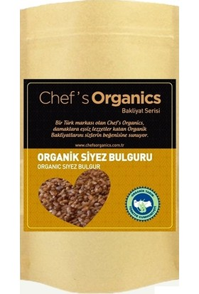 Chef's Organics Organik Siyez Bulguru 1 kg