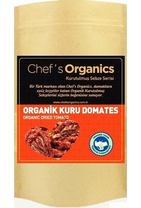 Chef's Organics Organik Güneşte Kurutulmuş Kuru Domates 250 G