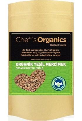 Chef's Organics Organik Yeşil Mercimek 1 kg