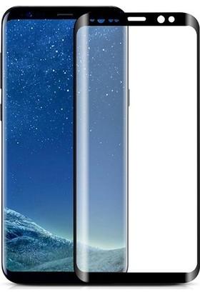 Cayka Samsung Galaxy S9 5D Full Nano Tam Kaplayan Ekran Koruyucu Cam Siyah