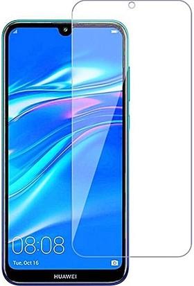 Eiroo Huawei Y7 2019 Tempered Glass Cam Ekran Koruyucu