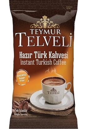 Teymur Telveli Hazır Türk Kahvesi 7 gr Ofis Seti 10' lu Kutu