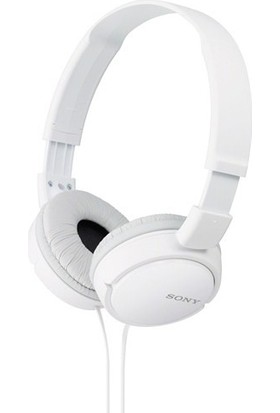 Sony MDR-ZX110 Kablolu Mikrafonlu Kulak Üstü Kulaklık Beyaz