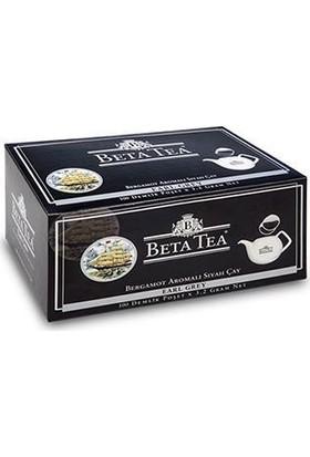 Beta Earl Grey Demlik Poşet 100 x 3,2 GR (Bergamot - Tomurcuk Çayı)