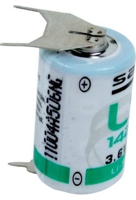 Saft LS14250-3PF 1/2AA 3.6V Lithium Pil / 3 Ayaklı Pil