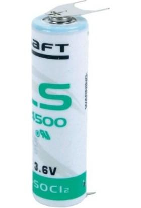 Saft LS14500-3PF 3.6V Aa Lithium Kalem Pil / 3 Ayaklı Pil