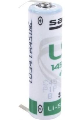 Saft LS14500-CNR 3.6V Aa Lithium Kalem Pil / 2 Ayaklı Pil