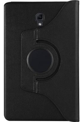 Cepmarketim Samsung Galaxy Tab A 10.1'' T510 Kılıf 360 Rotating Stand (Siyah) + Nano Ekran Koruyucu