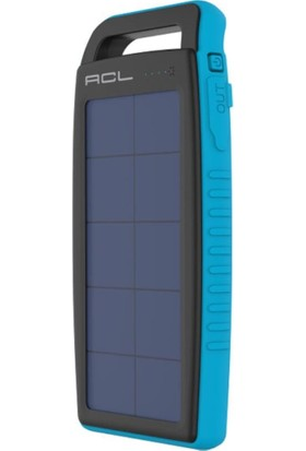 ACL PW-09 Hybrid Solar Güneş Enerjili 10000 mAh Powerbank
