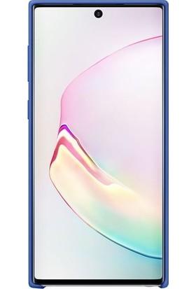 Samsung Galaxy Note 10 Mavi Silikon Kılıf-(EF-PN970TLEGWW)