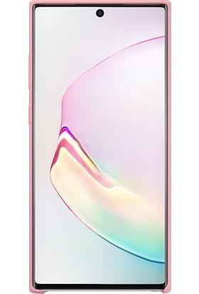 Samsung Galaxy Note 10 Plus Pembe Silikon Kılıf-(EF-PN975TPEGWW)