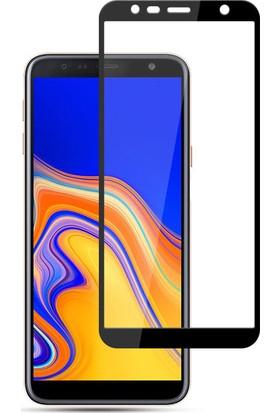 Quse Samsung Galaxy J6 Plus Tam Kaplayan 5D Ekran Koruyucu Nano Esnek Cam